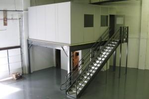 Mezzanine Office Space - Grace Material Handling