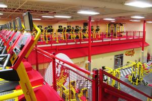 Retro Fitness Mezzanine
